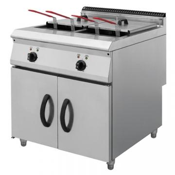 12L Double Tank Stainless Steel Heavy Duty Industrial Gas Electric Deep Fryer